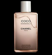 CHANEL Luxury Gift Wrap COCO MADEMOISELLE Velvet Body Oil 200ml NEW Sealed Box