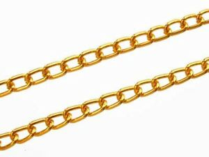 7 Links//Inch Trimits 3mm Chain Jewellery Making Necklace Aluminium Faceted