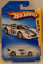 Hot Wheels 2009 New Models '09 Ford GT LM WHITE