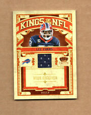 2010 Crown Royale Kings of the NFL Materials #15 Lee Evans Jersey Card 249/299