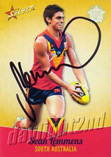 ✺Signed✺ 2013 GOLD COAST SUNS AFL Card SEAN LEMMENS Future Force