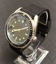 Deutsche Marine Militäruhr Herren Armbanduhr 60er Jahre Nachbau NEU mit OVP