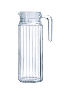 Luminarc QUADRO Krug Kühlschrankkrug mit Deckel 1.1 Liter 1 Stück