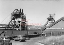 PHOTO  MONMOUTHSHIRE BRITANNIA COLLIERY PENGAM S.WALES IN 1984