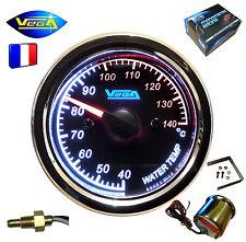 ► Manomètre Etanche VEGA® Température d'eau 40-140°C Moto Bateau inoxydable 12V