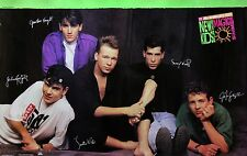 New Kids On The Block 1990 McDonalds Magic Summer Original Promo Poster NKOTB