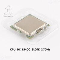 Intel Dual Core E5400 2.7GHz SLGTK LGA775 Dual-Core CPU Working Pull