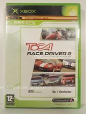 jeu TOCA RACE DRIVER 2 pour XBOX (first gen) francais course de voitures COMPLET