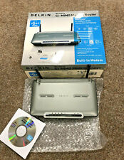 Belkin Wireless G+ Mimo Modem Router & USB Network Adapter new boxed, Ex Display