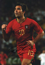 Deco, Portugal, Porto, Chelsea, Barcelona, Fluminense, signed 12x8 photo. COA.