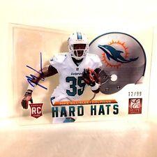 Mike Gillislee Auto 2013 Elite 12/99 Hard Hats Rookie Card #69 Autograph
