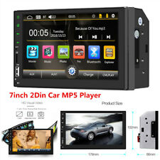 7inch 2Din HD Touch Screen Car Dash Stereo Radio MP5 Player Bluetooth FM/AUX/USB