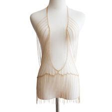 Sexy Breast Bra Maxi Necklace Women Bikini Body Chain Harness Bohemian Jewelry