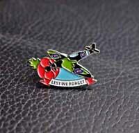2021 WW2 spitfire supermarine RAF new enamel pin badge Victory day