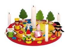 Geburtstagskranz mit Mächenfiguren - Geburtstag Mädchen / Junge aus Holz - OVP