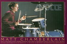1999 small Print Ad of Ayotte Drum Kit w Matt Chamberlain