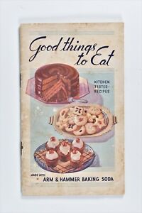 Vintage 1930s Arm & Hammer Baking Soda Recipe Booklet Kitchen Good Things To Eat