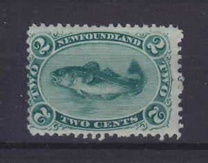 CANADA NEWFOUNDLAND 1865, FISH, SG 25, MNH **