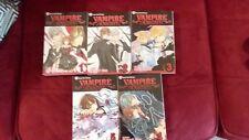 Lot of 6 Matsuri Hino VAMPIRE KNIGHT Shojo Beat Viz Media English Manga 1-5 MINT