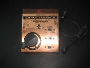 MRC HO THROTTLEPACK HO / DC TRANSFORMER MODEL 501