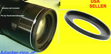 RING ADAPTER TO CAMERA CANON POWERSHOT SX430 IS SX430IS SX-430IS 52mm Metal