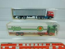 au967-0, 5 #2x Wiking H0 Lorry : 523 IVECO Alianca +542 MB Schwab, NIP