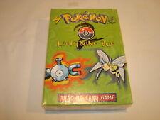 pokemon Base set 2 Lightning Bug theme Deck factory sealed 1999 WOTC