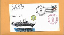 U.S.S AQUILA DECOMMISSIONING CEREMONY JUL 30,1993 USS ORION SIGNED