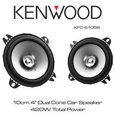 """Kenwood KFC-S1056 10cm 4"""" Dual Cone Speakers Door Dash Speakers 420W Total Power"""
