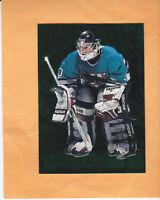 1995 96 PARKHURST CHRIS TERRERI EMERALD ICE #451 SAN JOSE SHARKS * FREE SHIP
