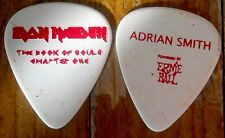 Official ADRIAN SMITH IRON MAIDEN Book of Souls Ch:1 2016 Tour GUITAR PICK
