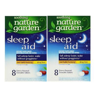 Soothing Nature Garden Sleep Aid Set Of 2 Boxes -Cherry tablets