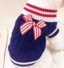 Hundebekleidung Hundepulli Pullover Hoodie Chihuahua Blau S Pulli Strickpullover