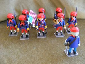 PLAYMOBIL - WESTERN ACW NORTHERN ZOUAVES.