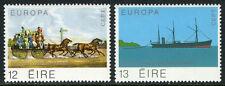 Ireland 463-464, MI 412-413, MNH. EUROPA CEPT. Long car, Cable, Steamer, 1979