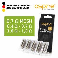 Aspire Nautilus BVC Coil Verdampferkopf 1 8 Ohm 10 X 5 Packungen