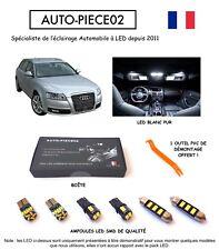 Pack FULL LED intérieur pour Audi A6 C6 AVANT (Kit ampoules blanc pur)