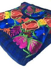 Guatemala Handmade Multicolor Floral Boho Hippie Shoulder Bag Crossbody F040