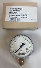 Braukmann M39M-A16 Manometer Pressure Gauge 0-16 Bar New