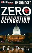 ZERO SEPARATION unabridged audio book on CD by PHILIP DONLAY