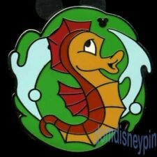 Disney Pin Dlr 2012 Hidden Mickey Completer (Pwp) *Undersea Band* Seahorse!