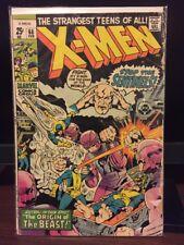 Uncanny X-Men #68 Marvel Comic 1971