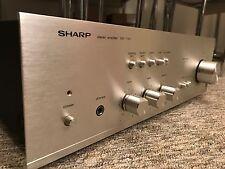 Sharp Sm-1144 Rare Vintage Hifi Amplifier Japanese Separate Amp Phono Stage