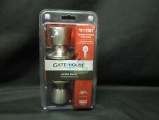 Gatehouse Brushed Stainless Turn Lock Keyed Entry 0117987 NEW