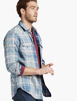 Lucky Brand Men's Grom Indigo Shirt