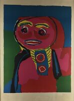 Fille Souliante 69' By Karel Appel  Hand Signed And Numbered 39/85