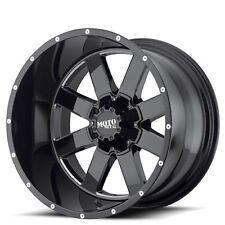 "New(4) Off Road 22x14"" Moto Metal Wheels MO962 Black Milled Rims"