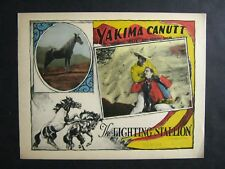 THE FIGHTING STALLION '26 YAKIMA CANUTT & BOY THE WONDER HORSE ULTRA RARE LC