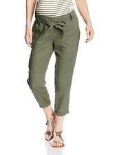 Linen Plus Size Maternity Trousers