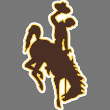 Wyoming Cowboys Ncaa Football Vinyl Sticker Car Truck Window Decal Laptop